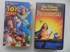 VIDEOS PELÍCULAS  VHS 2 TÍTULOS INFANTIL