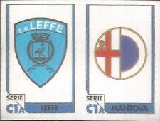 AA FIGURINA SCUDETTO TUTTO CALCIO 1993//94 LEFFE-MANTOVA