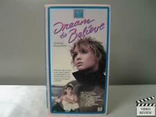 Dream to Believe (VHS 1987) Olivia D'Abo, Keanu Reeves