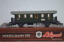 Liliput HO 271 00 Personenwagen 3 Kl 81270 DB (CD/294-8R2/10)