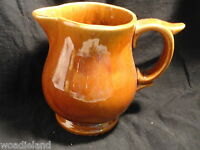 Brown McCoy Pottery Milk Pitcher or Creamer Mint