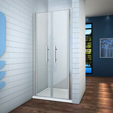 Mampara ducha  puerta giratoria 6mm Easyclean vidrio 1100x1950mm