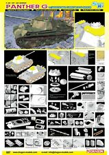 1/35 Dragon Panther Ausf.G Late Production w/Add-on Anti-Aircraft Armor #6897