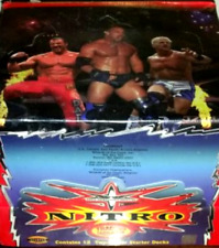 WCW NITRO Trading Card Game Box of (12) Two-Player Starter Decks!
