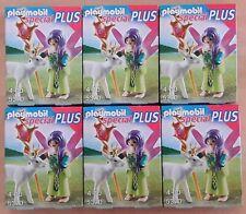 Playmobil Special plus 5370 Fee mit Zauber-Reh und Kristallstab NEU/OVP 6 Stück