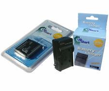 Battery + Charger for Panasonic Lumix DMC-SZ7 DMC-S3 DMC-FH27 DMC-FX78 DMC-FX90K