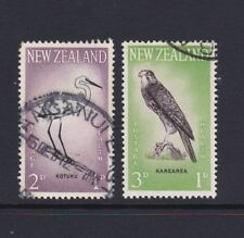 NEW ZEALAND 1961 Health USED SG 806/7 NZ Falcon Heron