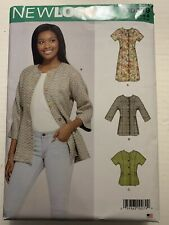 New Look Simplicity Sewing Pattern 6607 Dresses, Tops 10-22  Uncut