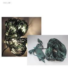 LED Filet lumineux blanc chaud 176 LEDs Eclairage de noël Lumière net Décoration