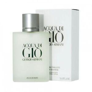Giorgio Armani Acqua Di Gio 100ml Mens Eau de Toilette Spray Perfume