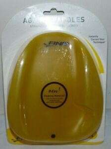 FINIS Strapless Technique Agility Paddles - Size Small - New
