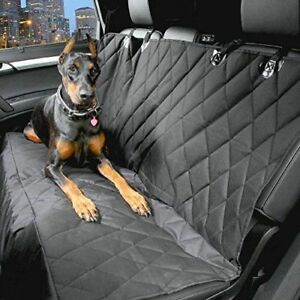 Quilted Pet Dog Car Rear Seat Cover Protector For Nissan Qashqai 2014 On
