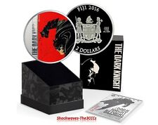 2016 BATMAN THE DARK KNIGHT RETURNS - 2 oz. SILVER COIN - FRANK MILLER DESIGN