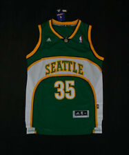 New Seattle Sonics #35 Kevin Durant Retro Green Basketball Jersey Size: S - XXL