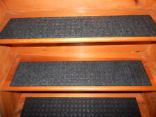 4   Step = 7'' x 33'' Outdoor / Indoor  Non-Slip Staircase 100% Rubber .