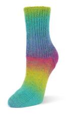 "Flotte Socke ""Kolibri"",  Fb 6204, Regenbogen, Garn 100g,  für Socken, Tücher um"