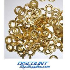 Stimpson #2 Self-Piercing Grommets (Brass Box of 500 Washers & 500 Grommets)