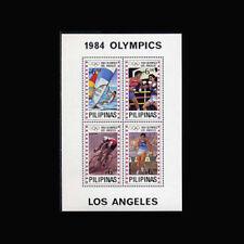 PHILIPPINES, Sc #1705, MNH, 1984, S/S, Olympics, Los Angeles, 231*F