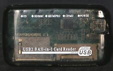USB 2.0 Card Reader XD, SD, MS, CF High Speed New FREE SHIPPING