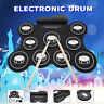9 Digital Pads Portable Roll Up Electronic Drum Set Usb Midi Speaker iword G4009