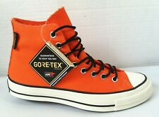 NWOB CONVERSE CHUCK TAYLOR '70 SNEAKERBOOTS 162351C Bold Mandarin Gore-Tex Pack