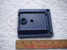 """Bed Mounting Base or foot #11016-103 from Vintage 8"""" Sears Wood Lathe #103-0603"""