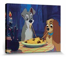 Susi und Strolch - Walt Disney Poster Leinwand-Druck Bild (50x40cm) #78767