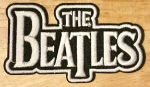 """1 The Beatles Embroidered 3"""" Iron on or sew on new band patch"""