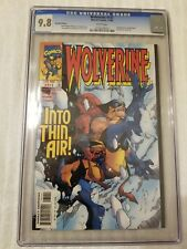 Wolverine #131 CGC 9.8.  White Pages Recalled Racial Slur.  Rarer Newsstand Edit