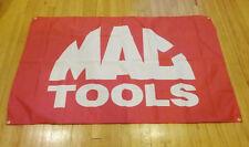 Mac Tools Red Shop Banner Garage Man Cave Racing Flag 5X3 Feet
