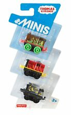 THOMAS & FRIENDS MINIS 3 TRAINS CHOCOLATE PERCY CREATURE SAMSON & CLASSIC SALTY