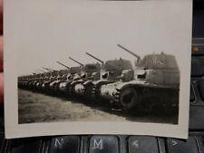 WW2 ORIGINAL PHOTOGRAPH TANK GRAVEYARD CEMETERY  North Africa  A