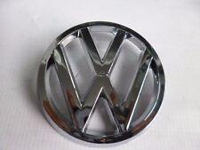 "VW RABBIT GTI MK1 GRILLE BADGE NEW AFTERMARKET 74-80 CHROME JETTA MK1 81-84 3.6"""