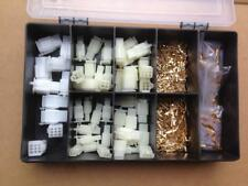 ELECTRICAL WIRING HARNESS LOOM REPAIR KIT 50 PLUGS 50 BULLETS SCOOTER