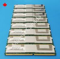 Hynix Samsung Micron 32GB 8x4GB 2Rx4 DDR2 PC2-5300F for HP DELL IBM Apple server