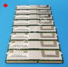 Hynix Samsung Micron 32GB 8x4GB 2Rx4 DDR2 PC2-5300F for HP DELL IBM Apple server