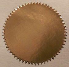 Shiny Foil - Gold - Silver - Bronze Certificate / Company Seals - 41mm
