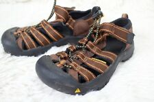 KEEN Newport Strap Sandals Waterproof Shoes Kids Size 11 Youth Boy Girl Brown