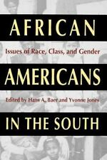 African Americans in the South: Issues of Race, Class, and Gender (Southern Ant