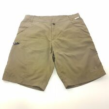 Jack Wolfskin  Mens Shorts  LARGE (W34 L10.5) Green Regular Fit  High Rise