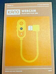Kano - 1080p HD Webcam - Flexible - Macro - Privacy Mode