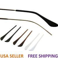 Eyeglasses Acetate Fiber Temple End Tips Ear Sock Pieces Tubes Replacement