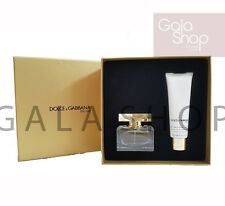 DOLCE E GABBANA D&G THE ONE CONFEZIONE REGALO PROFUMO 30ML + BODY LOTION 30ML