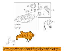 PORSCHE OEM Cayenne Headlight Head Light Lamp-Mount Bracket Left 95563104300