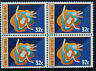 United Nations (New York) Stamp / Stamp Yvert and Tellier N° 693 x 4 N (Cyn14)