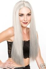 Halloween Vampire Wig Grey Straight X-Men Storm Lord of the Rings Sarumon H0001G