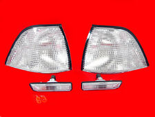 CLEAR INDICATORS & SIDE REPEATERS FOR E36 3 SERIES COUPE CONVERTIBLE CABRIOLET