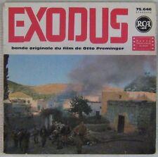 Exodus 45 tours Otto Preminger 1961