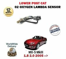 For Mazda mx5 1.8i 2.0i 8/2005 - > Direct Fit Rear Lower 02 Oxygen Lambda Capteur