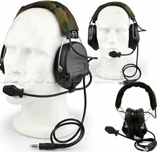 Tactical MSA SORDIN Headset For Airsoft Hunting Electronic Shooting EarMuff